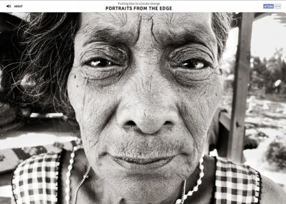 Portraits from the edge
