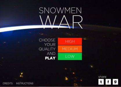 Snowmen War