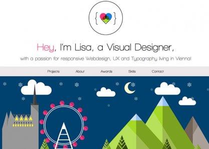 Lisa Gringl Portfolio Website