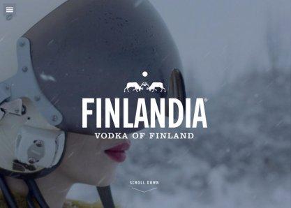 Finlandia Vodka website