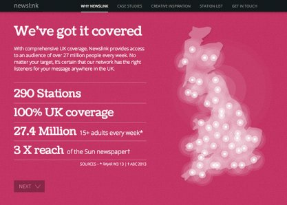 Newslink Marketing Site