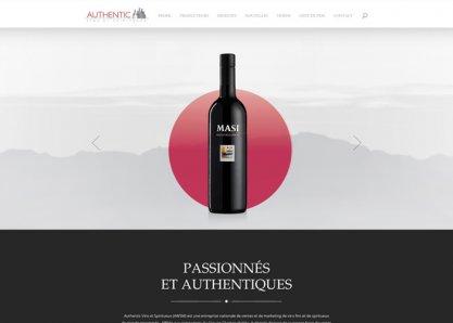 Authentic vin et Spiritueux