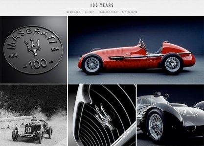 Maserati 100 Years