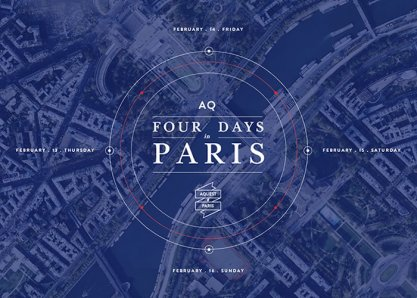 Four days in Paris