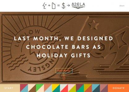 LK + Chocolate = $ > 826LA