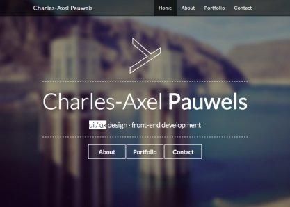 Charles-Axel Pauwels — Portfolio