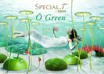 « Ô Green » SPECIAL.T by Nestlé
