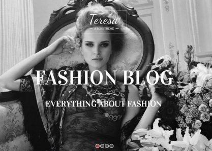 Teresa - A Fashion Website