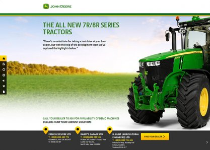 THE ALL NEW 7R/8R SERIES TRACTORS