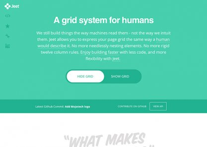 JEET.gs | A grid system for humans