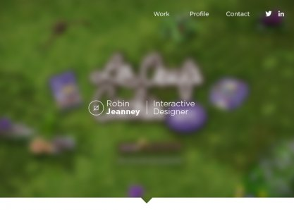 Robin Jeanney - Interactive Designer