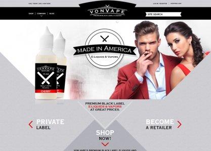 Von Vape Premium E-Liquids