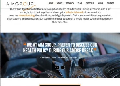 AIM Group - Where Corporate Meets Cool
