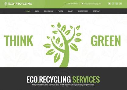 Ecorecycling - an ECO Theme