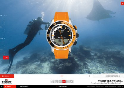 Tissot T-Touch Tactile Watch