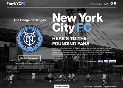 NYCFC: Badge of Badges