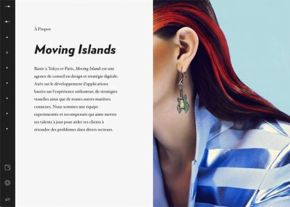 Moving Islands