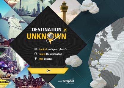 Schiphol Destination Unknown