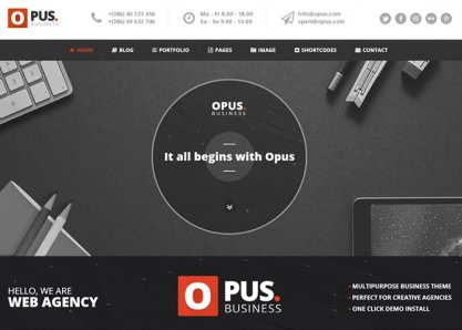 Opus - Business Theme