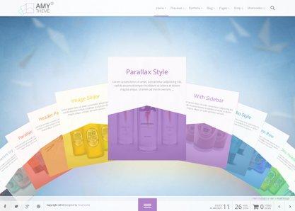 AMY Theme - Premium WP Theme