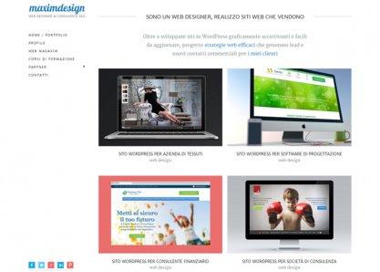 Maximdesign - Web Designer