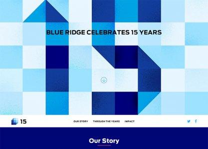 Blue Ridge Celebrates 15 Years