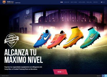 FC Barcelona & Nike Megastore