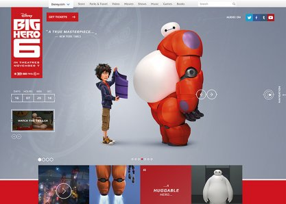 Big Hero 6 Official Website