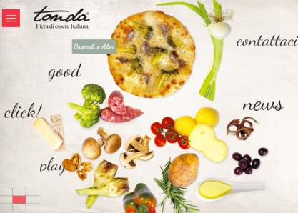 Tonda. Great Italian Pizzetta