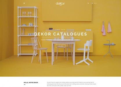deKor - Interior Joomla Template