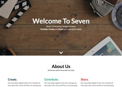Seven - WordPress Theme