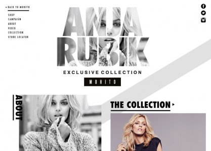 MOHITO x Anja Rubik Exclusive Collection