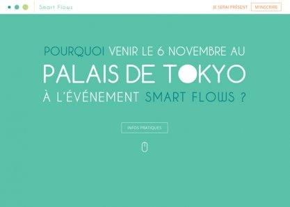 Smart Flows Event @ Palais de Tokyo (Paris)