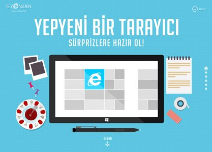 The New Internet Explorer