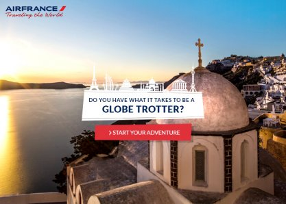Traveling The World by Air France