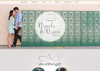 Arpeeta & Arpan Wedding Website
