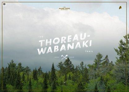 The Thoreau-Wabanaki Trail