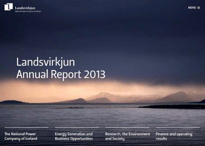 Landsvirkjun - Annual Report 2013