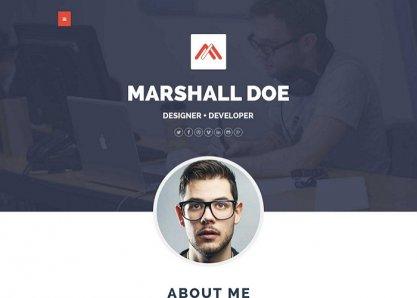 MD – Multipurpose Portfolio WordPress Theme