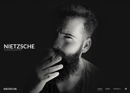 Nietzsche - Creative HTML Template
