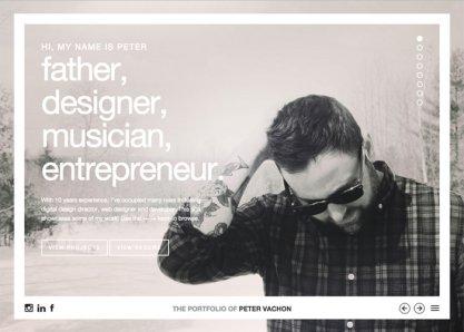 The Portfolio of Peter Vachon