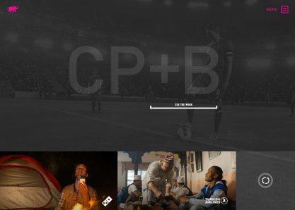 CP+B Agency Website