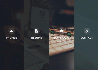Privado - Interactive Personal WordPress Theme
