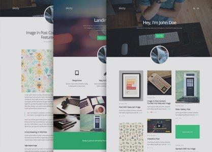 Skoty - Responsive Multipurpose Blogging Theme