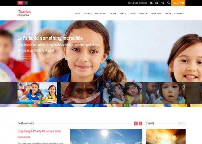 Charitas WordPress Theme