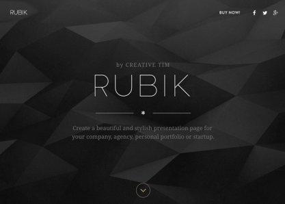 Rubik by Creative Tim