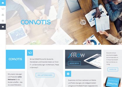 CONVOTIS Corporate Website