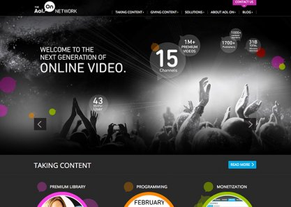 The AOL ON Network