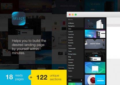 Select - Landing Page Builder