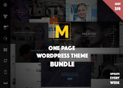 Maniva - 20+ WordPress Themes Bundle